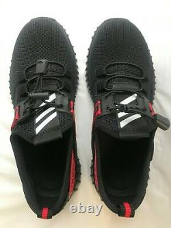 Off-White Shoes Black Red 5400 lbs Steel Toe Cap Bulletproof Sole Size 39