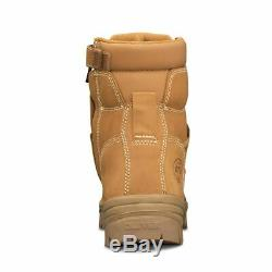 Oliver Work Boots, 45632z, Zip / Lace-Up, Non-Metal (Composite) Toe Cap Safety