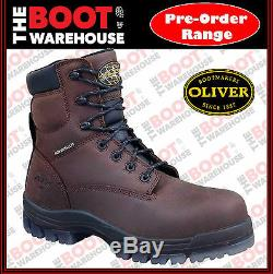 Oliver Work Boots, 45637, Fully Non-Metallic Toe Cap Safety PROSPECTING FRIENDLY