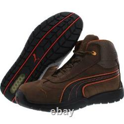 Puma Mens ASTM Leather Steel Toe Slip Resistant Safety Shoe Boots BHFO 7549