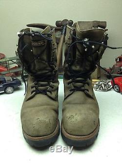vintage red wing logger boots