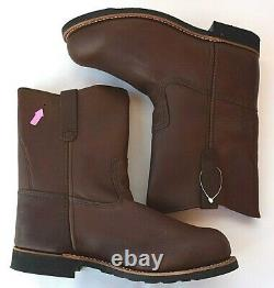 RED WING SHOES Pecos 9 Steel Toe Pull On Boots 966 Mens 10 NEW Factory 2nd
