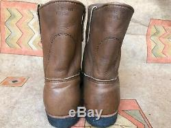Rare VTG Red Wing Heritage 966 1970's Steel Toe Pecos boots size 9 EE E2