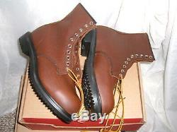 Red Wing 2233 Safety 8 Boots Steel toe Made in USA Brand New US Size10 EE