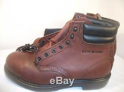 8f2ae73d9d326 Red Wing 2245 Brown Leather Steel Toe 6 inch Ankle Work Boots USA ...