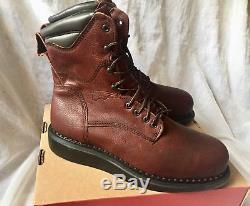 Red Wing 3568 Safety Boots 8inch Steel toe Made in USA Brand New Size 11 D