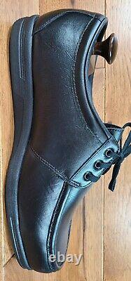 Red Wing Black Leather Moc Toe Steel Safety Toe Work Shoes Wide Size 14 EEE USA