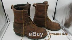 Red Wing Loggermax Boots Size 12 E2 4420 05/19 Steel Toe 9 Men's Shoes