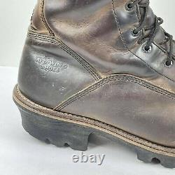Red Wing Men's Logger Steel Toe thinsulate US 12 D Vibram Boots 2209 Work shoes