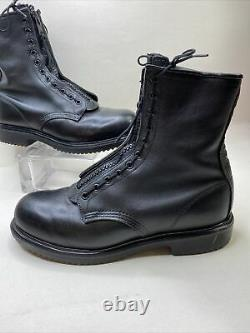 Red Wing Mens 10 4473 Boots Zip Up 8 Leather Military Motorcycle Steel Toe Shoe