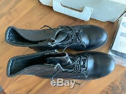 Red Wing Shoe SUPERSOLE 8-INCH BOOT Style 4473 Steel Toe Size 10 Black