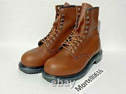 Red Wing Shoes 2233 Steel Toe 8 Classic Made In USA Leather Work Boot Men Sz 10