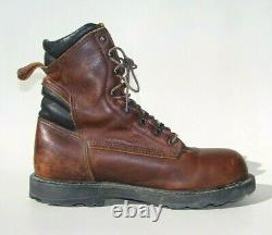 Red Wing Shoes 2264 Men's 10.5 EE Wide 8 Steel Toe EH Leather Work Safety Boots
