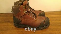Red Wing Shoes 3500 Mens Size 9.5 H Steel Toe Waterproof Mens Work Boot wide