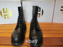 Red Wing Shoes 4473 Black 6 Supersole 2.0 Steel Toe Work Boots 12 D Motorcycle