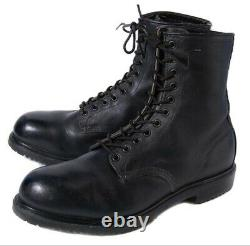 Red Wing Shoes 4473 Steel Toe Boots Men's 11 Black Leather Firefighters Combat