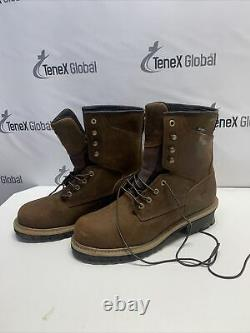 Red Wing Shoes Irish Setter Mesabi Steel Toe/Waterproof Work Boots Size 10.5 P-7