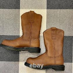 Red Wing Shoes Mens Pecos Pull On Safety Steel Toe Work Boots 8 NIB