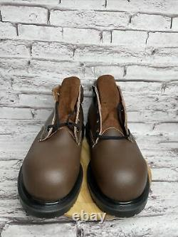 Red Wing Shoes Soze 9 Wide Mens 5 Supersole Steel Toe Leather Work Boot