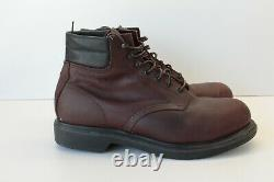 Red Wing Shoes Supersole 6 Leather Boots Steel Safety Toe 2245 Mens Size 10 D B