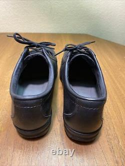 Red Wing Steel Toe Oxford Work Safety Shoes Mens Mens 9 EEE 6604 Black 2nds