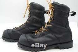 Red Wing TruWelt 9-inch Mens Sz 12 Steel Toe GTX Leather Work Logger Biker Boots