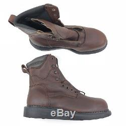 Red Wing Wedge Sole Ironworker Safety Boot Electrical Hazard Steel Toe 3568