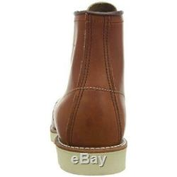 Red Wings Mens Brown Leather Lace Up Casual Boots Shoes 8.5 Medium (D) BHFO 5116
