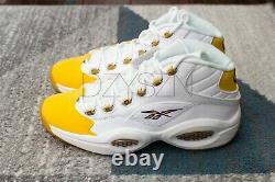 Reebok Question Mid x Shoe Palace Yellow Toe Special Box, Size 11, Brand New
