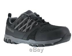 Reebok RB4016 Men's Sublite Cushion Athletic Oxford Steel Toe Safety Work Shoes