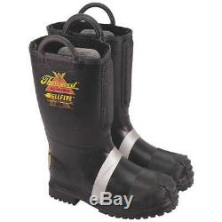 THOROGOOD SHOES 807-6003 10.5M Insulated Fire Boots, 10-1/2M, Steel, PR