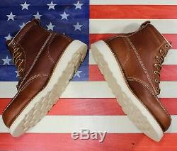 Thorogood 6 American Heritage Safety Steel Toe Work Boot 804-4200 FACT2ND USA
