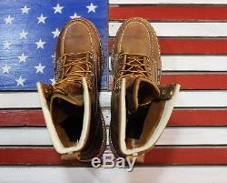 Thorogood 8 American Heritage MOC Safety Steel Toe Boots 804-4378 Made in USA