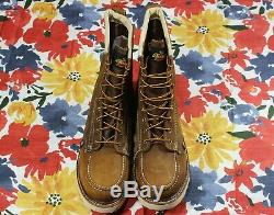 Thorogood 8 American Heritage Safety Steel Toe Work Boot 804-4478 USA 10.5 EE