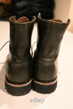 Thorogood Boots 1892 Tomahawk Loden Green Logger Style Shoes USA Size 9.5D