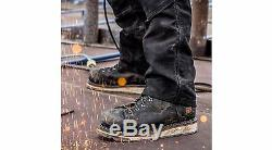 Timberland PRO Boots Mens Gridworks 6 Alloy Toe Black Work Boots