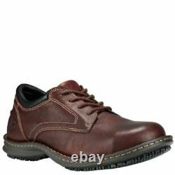 Timberland PRO Men's Gladstone ESD Steel Toe Work Shoes Brown TB085590214