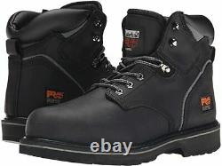 Timberland PRO mens 6 Pit Boss Steel Toe Snow Shoe Black Oiled SIZE 10.5