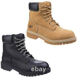 Timberland Pro Direct Attach Safety Boots Leather Steel Toe Cap Womens Work Shoe