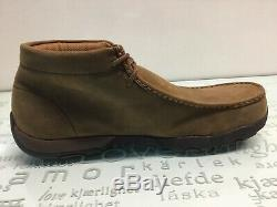 Twisted X MDMST01 Driving Mocs Steel Toe Lace Up Work Shoes Men's size 12 W