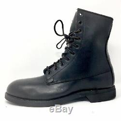 Vintage 1977 Addison Shoe Co. Steel Toe Military Army Combat Boots Size 9