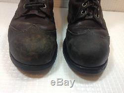 Vintage Classic Distressed Made in the USA. Steel Toe Ankle Boot Men's Size 9USA