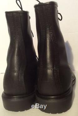Vintage RED WING SHOES MEN'S STEEL TOE MOTORCYCLE & WORK BOOTS, 4473, 11 D