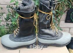 White's Snow Boots Shoes Size 9 Mens (Steel Toes) Hunting ELK Spokane Durable