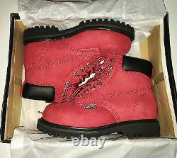 Womens Safety Work Boots Lace Up Steel Toe Cap Shoes