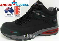 Work Boots Safety Shoes Toe Cap Heavy Duty Lace Up Mens Composite Brand New